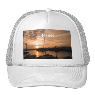 Israel Sunset Mesh Hat