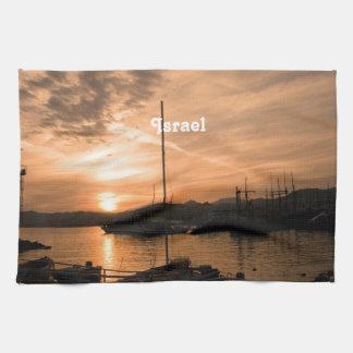 Israel Sunset Kitchen Towel