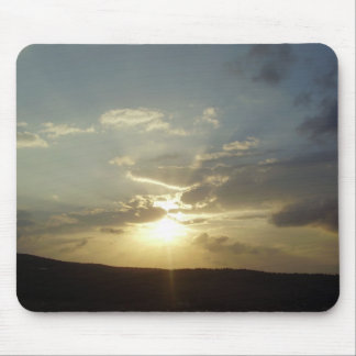 Israel Sunset Mouse Pad