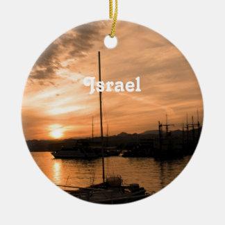 Israel Sunset Ornaments