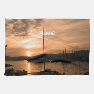 Israel Sunset Towel