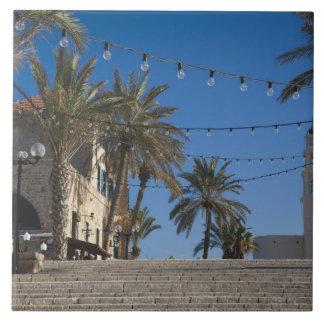 Israel, Tel Aviv, Jaffa, escaleras, Jaffa viejo Tejas Cerámicas