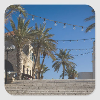 Israel Tel Aviv Jaffa escaleras Jaffa viejo Colcomanias Cuadradas