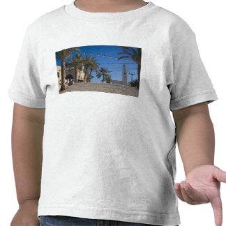 Israel, Tel Aviv, Jaffa, escaleras, Jaffa viejo Camisetas