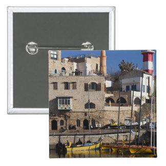 Israel, Tel Aviv, Jaffa, Jaffa Old Port Pinback Buttons