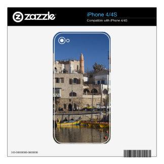 Israel, Tel Aviv, Jaffa, Jaffa Old Port Decal For The iPhone 4