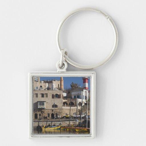 Israel, Tel Aviv, Jaffa, Jaffa Old Port Keychain