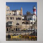Israel, Tel Aviv, Jaffa, Jaffa Old Port Poster