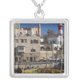 Israel, Tel Aviv, Jaffa, Jaffa Old Port Silver Plated Necklace