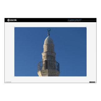 "Israel, Tel Aviv, Jaffa, mosque minaret Decals For 15"" Laptops"