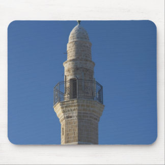 Israel, Tel Aviv, Jaffa, mosque minaret Mouse Pad