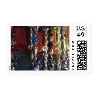 Israel, Tel Aviv, Jaffa, sheesha water pipes Postage Stamp