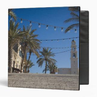 Israel, Tel Aviv, Jaffa, stairs, Old Jaffa Vinyl Binders