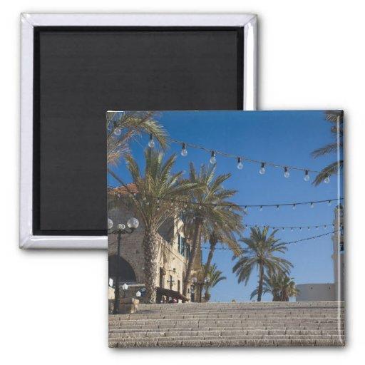 Israel, Tel Aviv, Jaffa, stairs, Old Jaffa Refrigerator Magnets