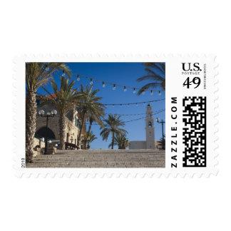 Israel, Tel Aviv, Jaffa, stairs, Old Jaffa Postage
