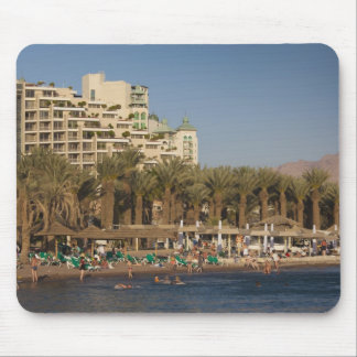 Israel, The Negev, Eilat, Red Sea beachfront 2 Mouse Pad