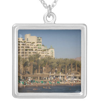Israel, The Negev, Eilat, Red Sea beachfront 2 Necklace