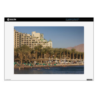Israel, The Negev, Eilat, Red Sea beachfront 2 Skins For Laptops