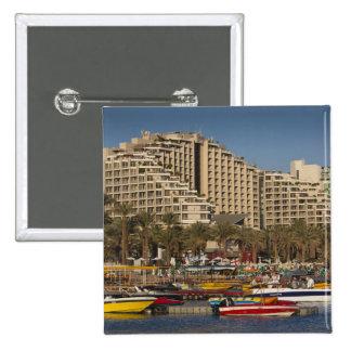 Israel, The Negev, Eilat, Red Sea beachfront 3 Button