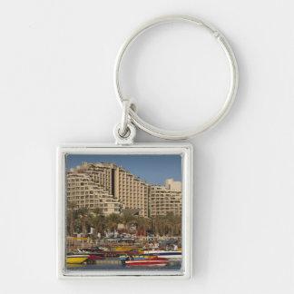 Israel, The Negev, Eilat, Red Sea beachfront 3 Keychain
