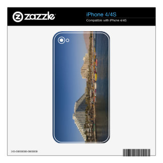 Israel, The Negev, Eilat, Red Sea beachfront Decal For iPhone 4