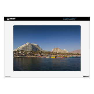 Israel, The Negev, Eilat, Red Sea beachfront Decal For Laptop