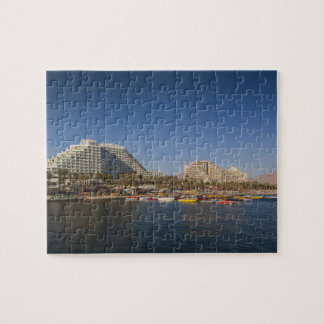 Israel, The Negev, Eilat, Red Sea beachfront Jigsaw Puzzle