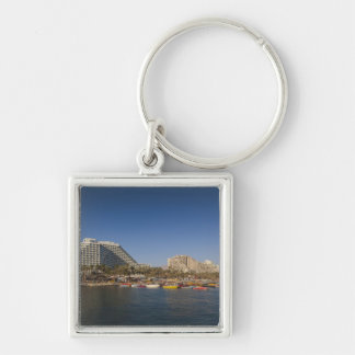 Israel, The Negev, Eilat, Red Sea beachfront Key Chain