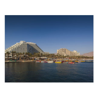 Israel, The Negev, Eilat, Red Sea beachfront Postcard