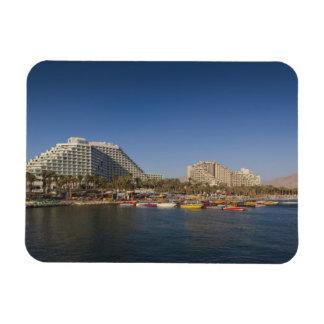 Israel, The Negev, Eilat, Red Sea beachfront Rectangular Photo Magnet