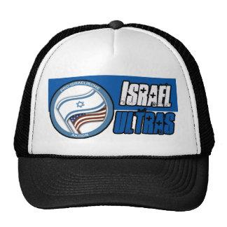 Israel ultras cap trucker hat
