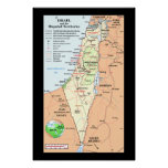 Israel - Understanding The Boundary Disputes Posters