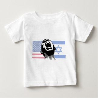 Israel-USA scream Baby T-Shirt