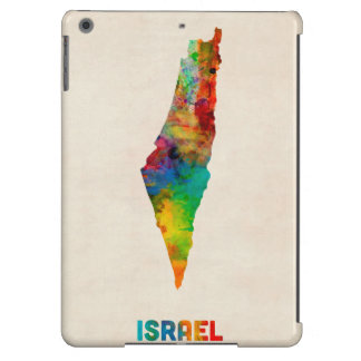 Israel Watercolor Map Case For iPad Air