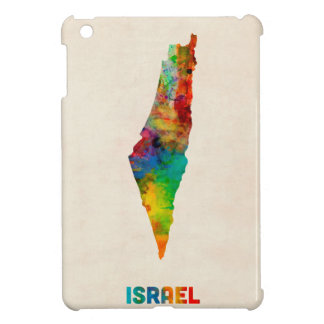 Israel Watercolor Map Case For The iPad Mini