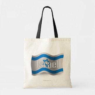 Israel Waving Flag Budget Tote Bag