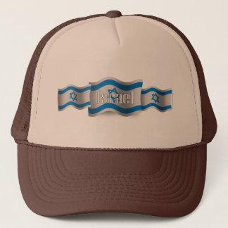 Israel Waving Flag Trucker Hat