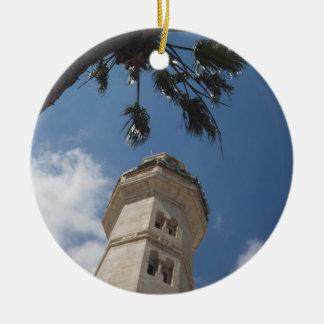 Israel, West Bank, Bethlehem, Mosque of Omar Ceramic Ornament
