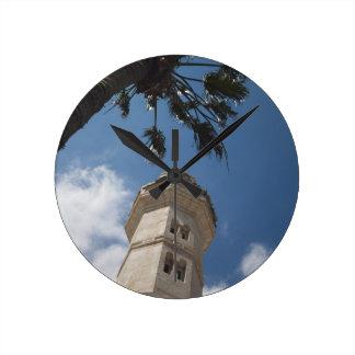 Israel, West Bank, Bethlehem, Mosque of Omar Round Clocks
