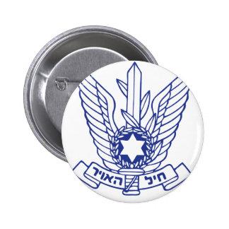Israeli Air Force Emblem Pinback Button