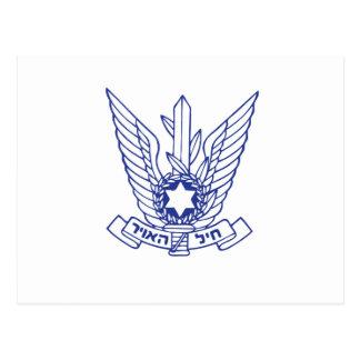 Israeli Air Force Emblem Postcard