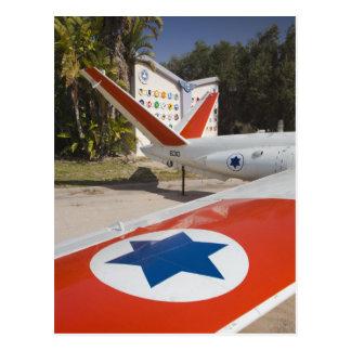 Israeli Air Force Museum Postcard