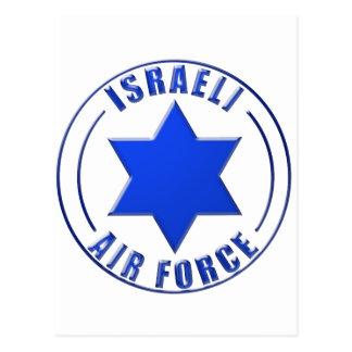 Israeli Air Force Roundel Postcard