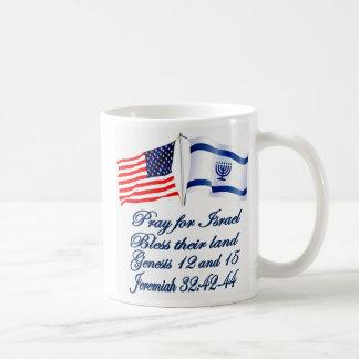 Israeli American flag collection Coffee Mug