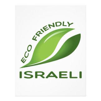 Israelí amistoso de Eco Plantillas De Membrete