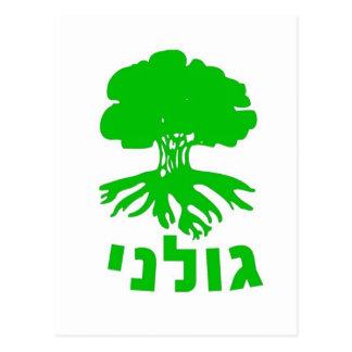 Israeli Army IDF Golani Infantry Brigade Emblem Postcard