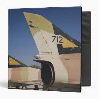 Israeli-built Kfir fighter 2 3 Ring Binder