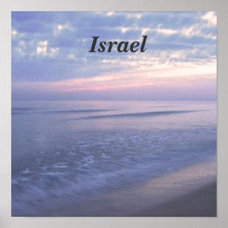 Israeli Coast Poster