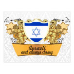 Israelí con clase postal