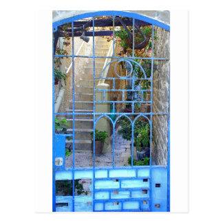 Israeli Door Postcard